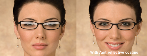 dee43bc4ebc Next time you look at a friend or work colleague see if they have the anti-reflective  coating.